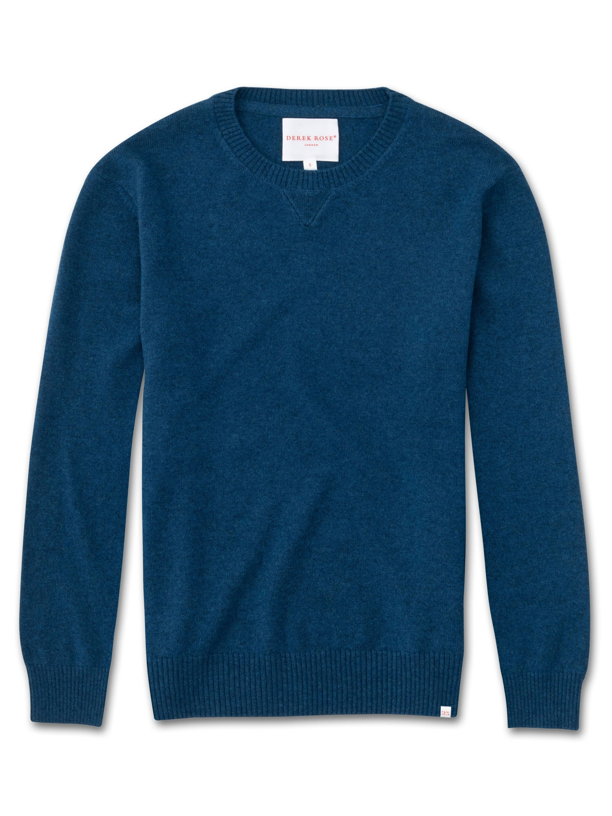 Women's Cashmere Sweater Finley Pure Cashmere Ocean