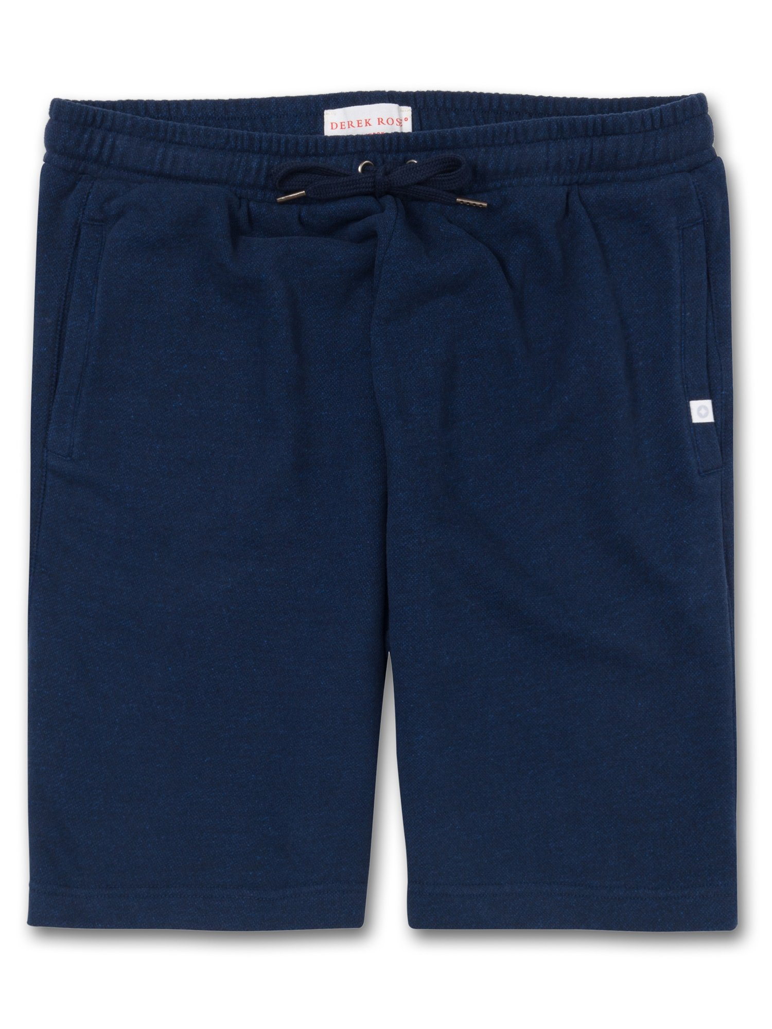Men's Sweat Shorts Devon Loopback Cotton Navy