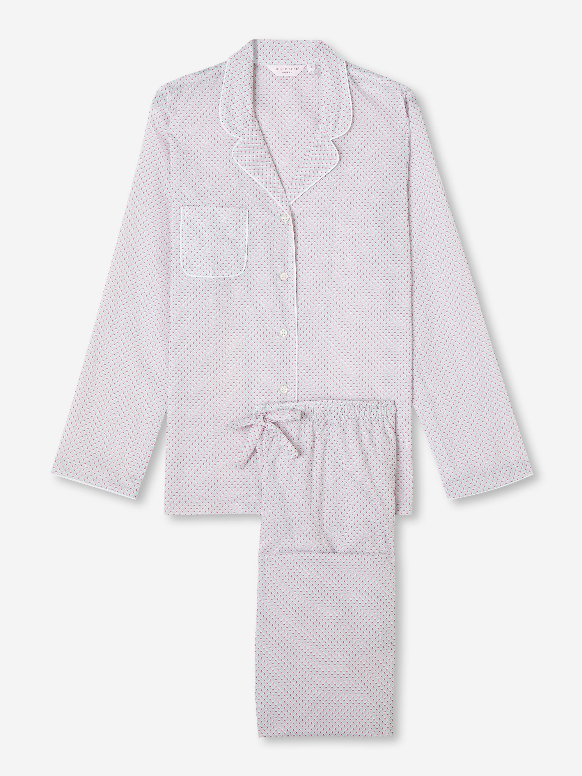 Women's Pyjamas Ledbury 40 Cotton Batiste Pink