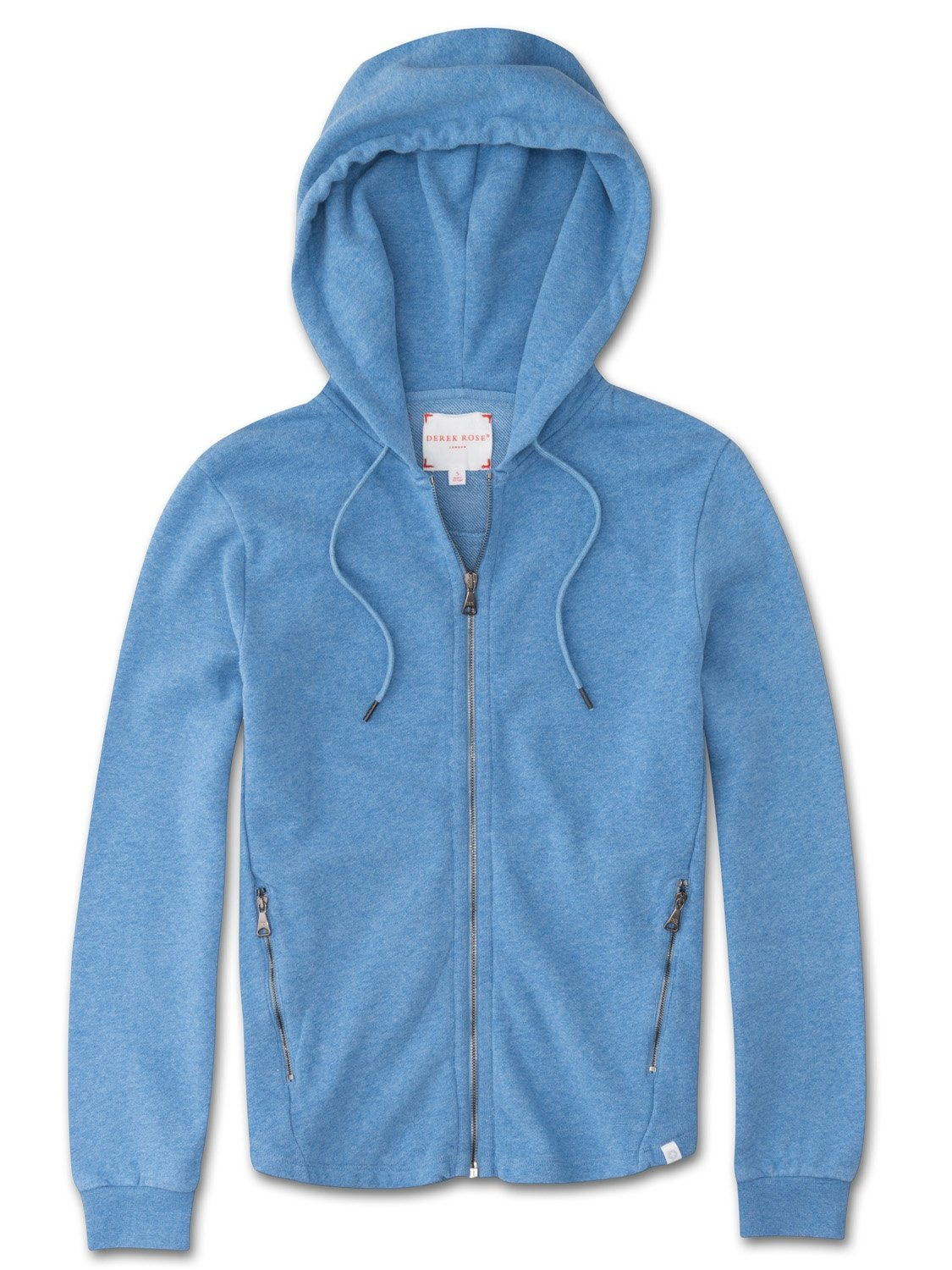 Women's Hoodie Devon 2 Loopback Cotton Blue