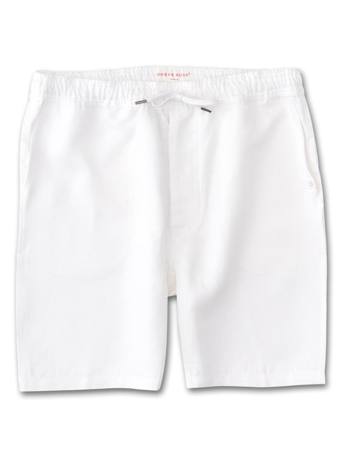 Men's Linen Shorts Sydney Linen White