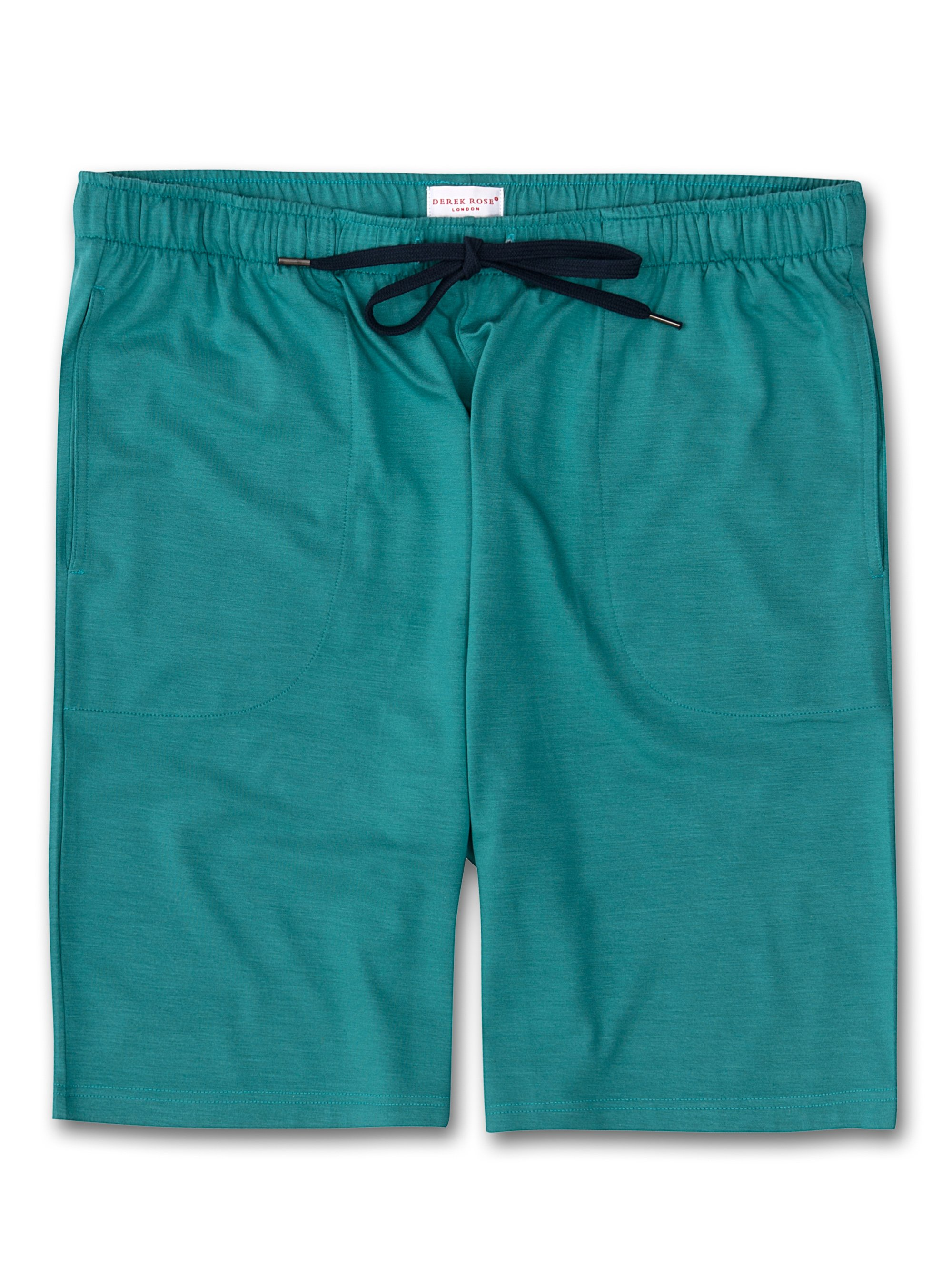 Men's Jersey Shorts Basel Micro Modal Stretch Turquoise