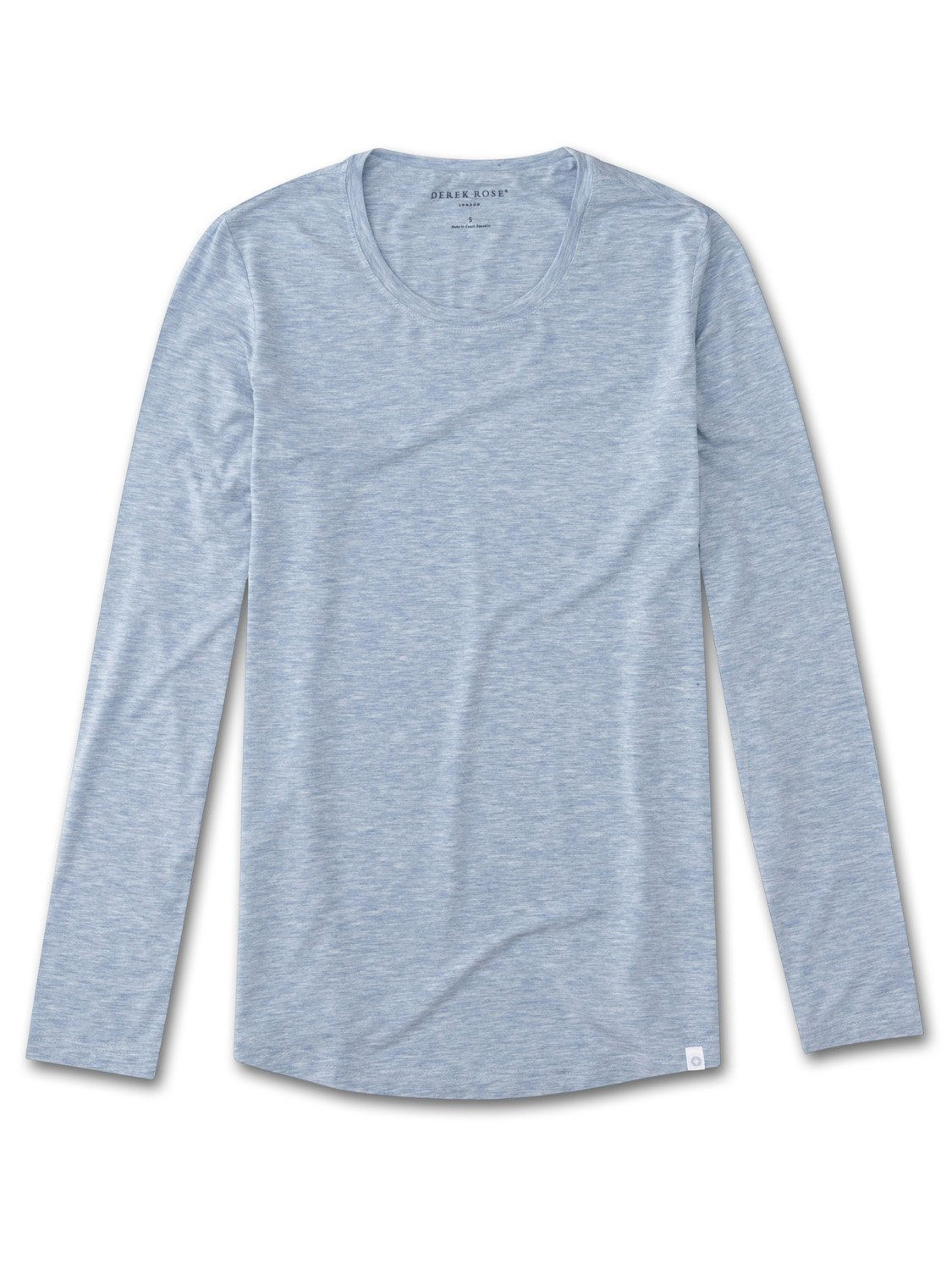 Women's Long Sleeve T-Shirt Ethan Micro Modal Stretch Blue