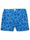 Men's Modern Fit Swim Shorts Maui 25 Blue