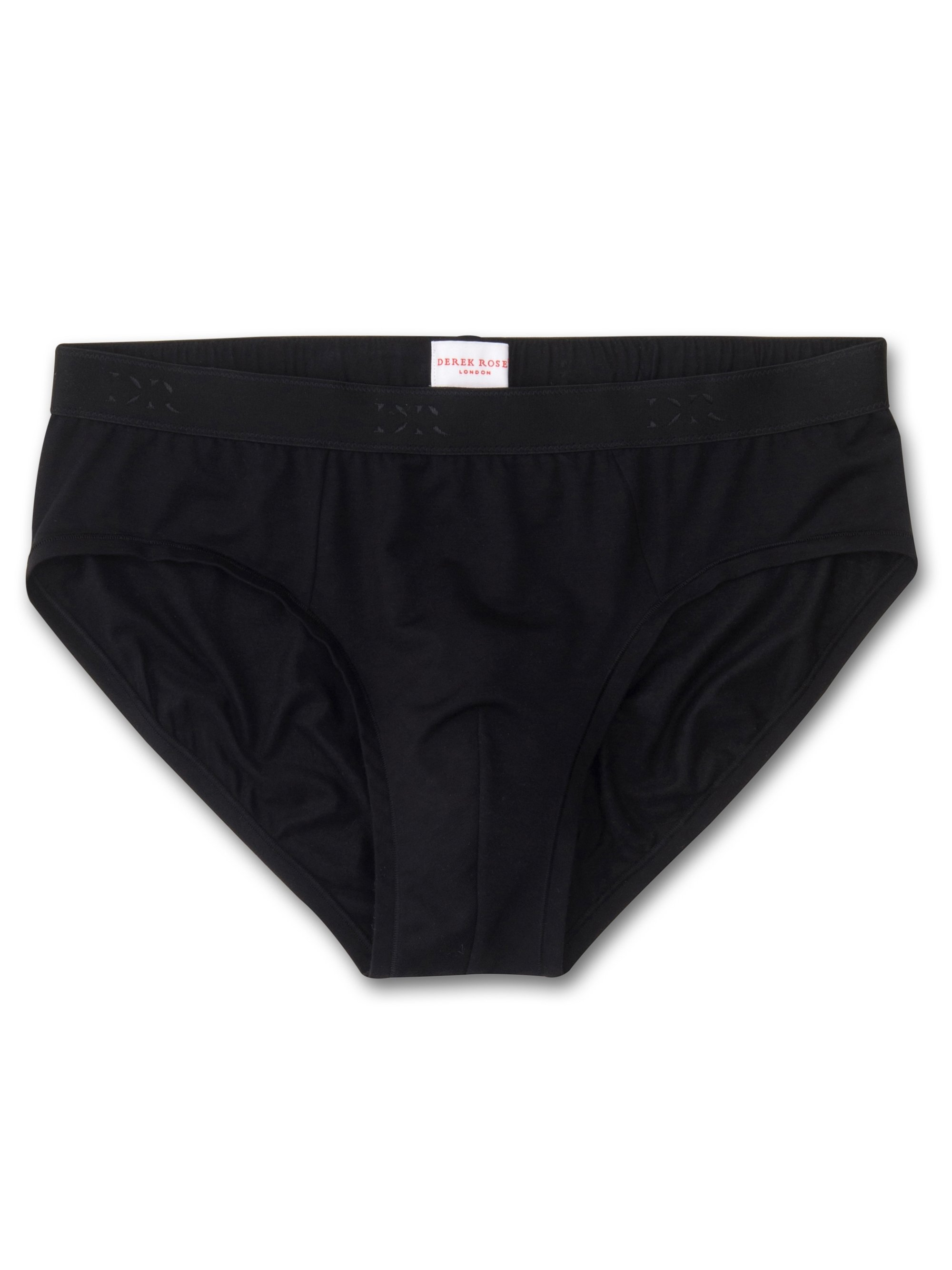Men's Mid Briefs Alex Micro Modal Stretch Black