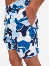 Men's Classic Fit Swim Shorts Maui 27 Blue