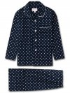 Kids' Pyjamas Plaza 60 Cotton Batiste Navy
