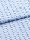 Men's Classic Fit Boxer Shorts Jermyn Pure Cotton Stripe White-Blue