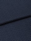Men's Classic Fit Pyjamas Plaza 21 Cotton Batiste Polka Dot Navy