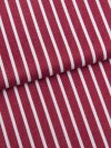 Men's Classic Fit Pyjamas Royal 215 Cotton Satin Stripe Red