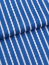 Men's Classic Fit Boxer Shorts Royal 215 Cotton Satin Stripe Blue