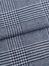 Men's Lounge Trousers Kelburn 10 Brushed Cotton Check Navy
