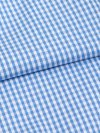Men's Classic Fit Boxer Shorts Gingham Pure Cotton Check Blue