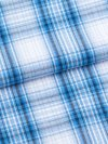 Men's Lounge Trousers Ranga 30 Cotton Check Blue