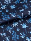 Men's Modern Fit Piped Pyjamas Brindisi 23 Pure Silk Satin Navy