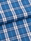 Men's Lounge Trousers Ranga 32 Brushed Cotton Check Blue