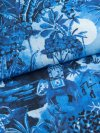 Men's Modern Fit Pyjamas Ledbury 10 Cotton Batiste Blue