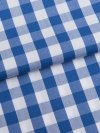 Women's Pyjamas Barker 26 Cotton Check Blue