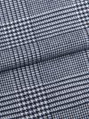Men's Modern Fit Pyjamas Kelburn 10 Brushed Cotton Check Navy