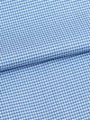 Men's Short Pyjamas Barker 19 Cotton Check Blue