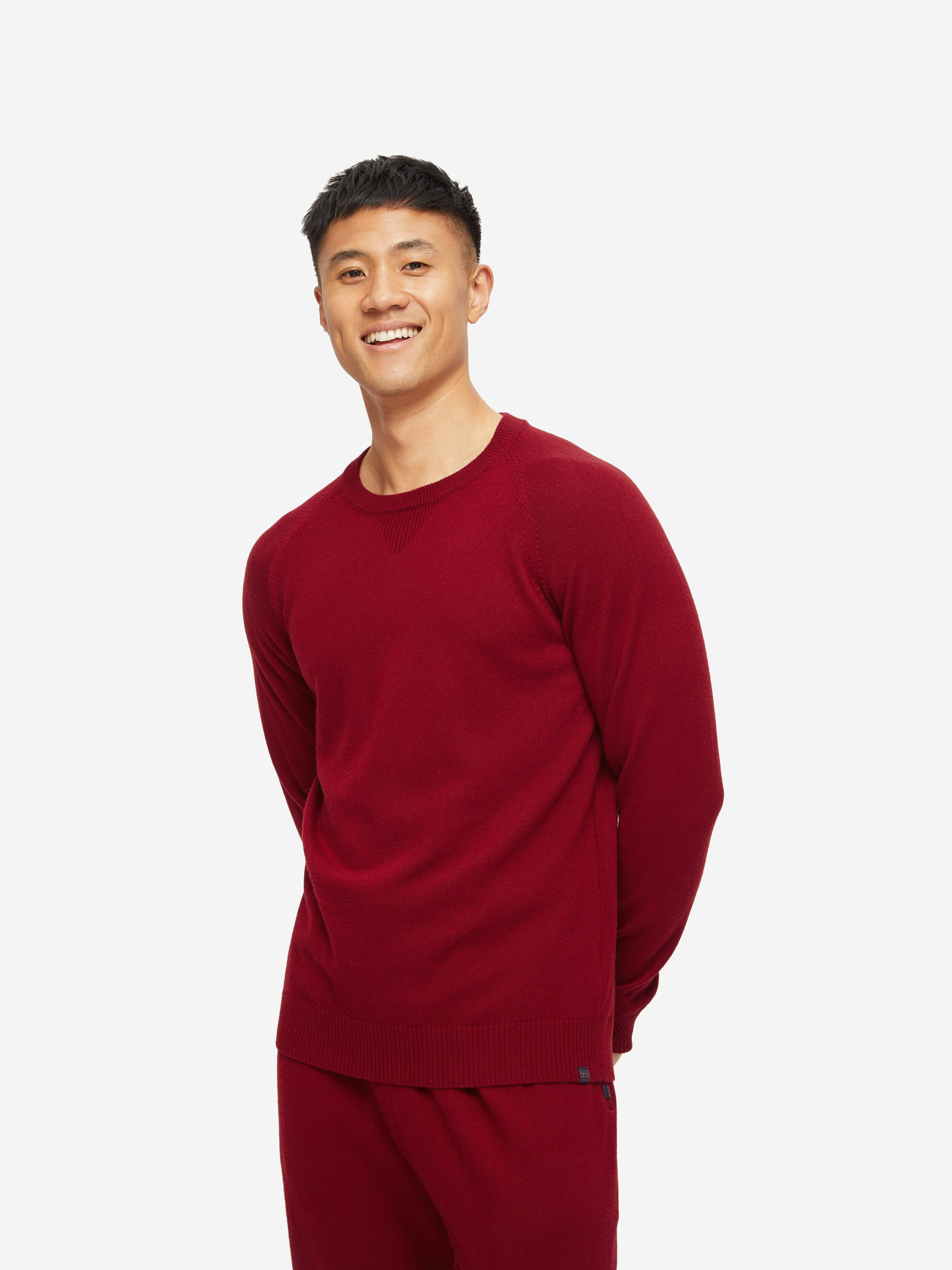 Men's Sweater Finley Cashmere Red