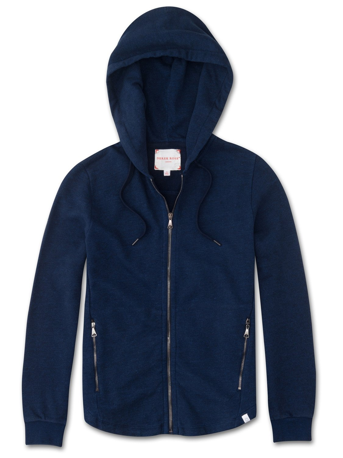Women's Hoodie Devon Loopback Cotton Navy
