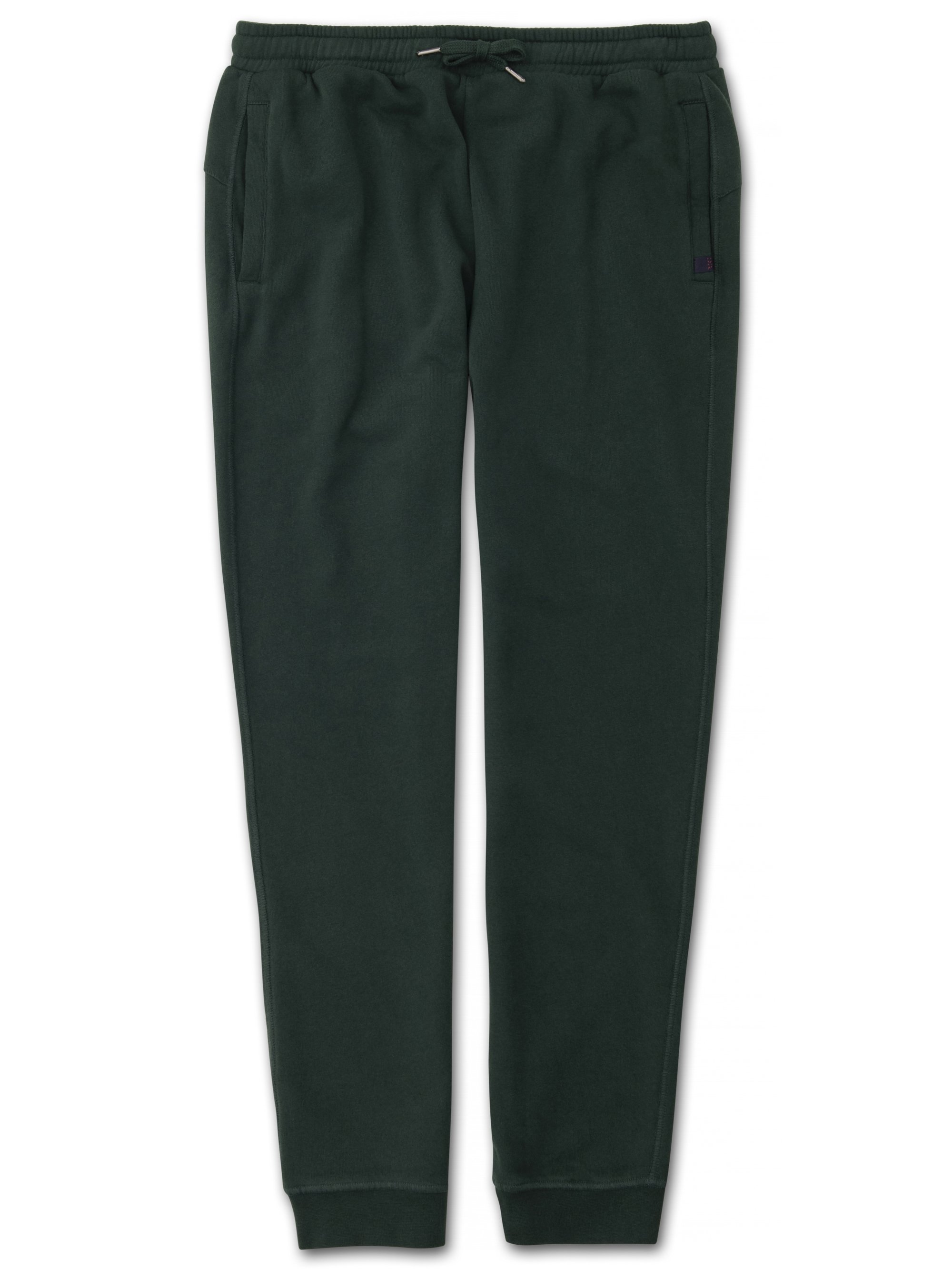 Men's Sweatpants Devon Loopback Cotton Green