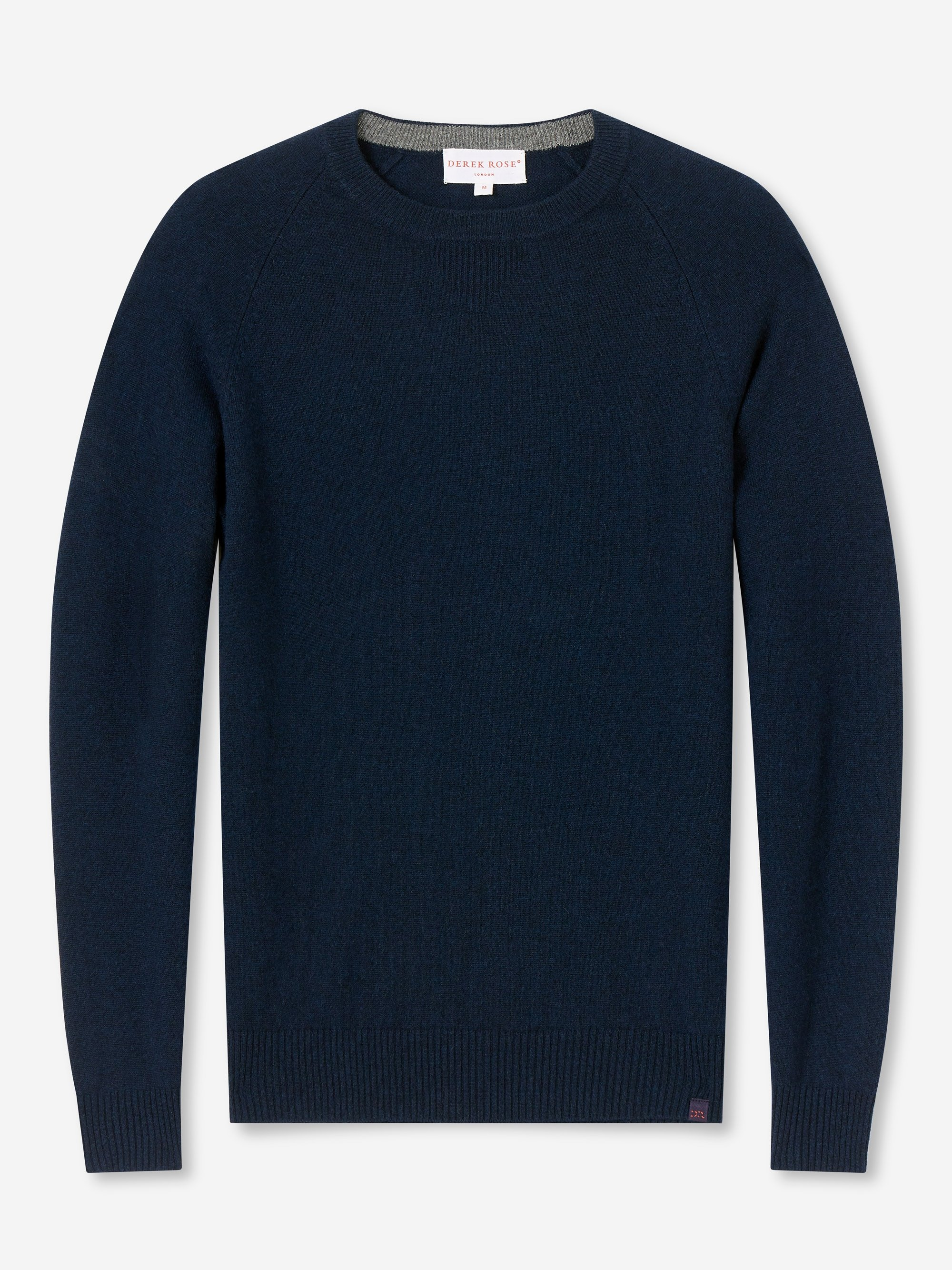 Men's Cashmere Sweater Finley 2 Pure Cashmere Navy