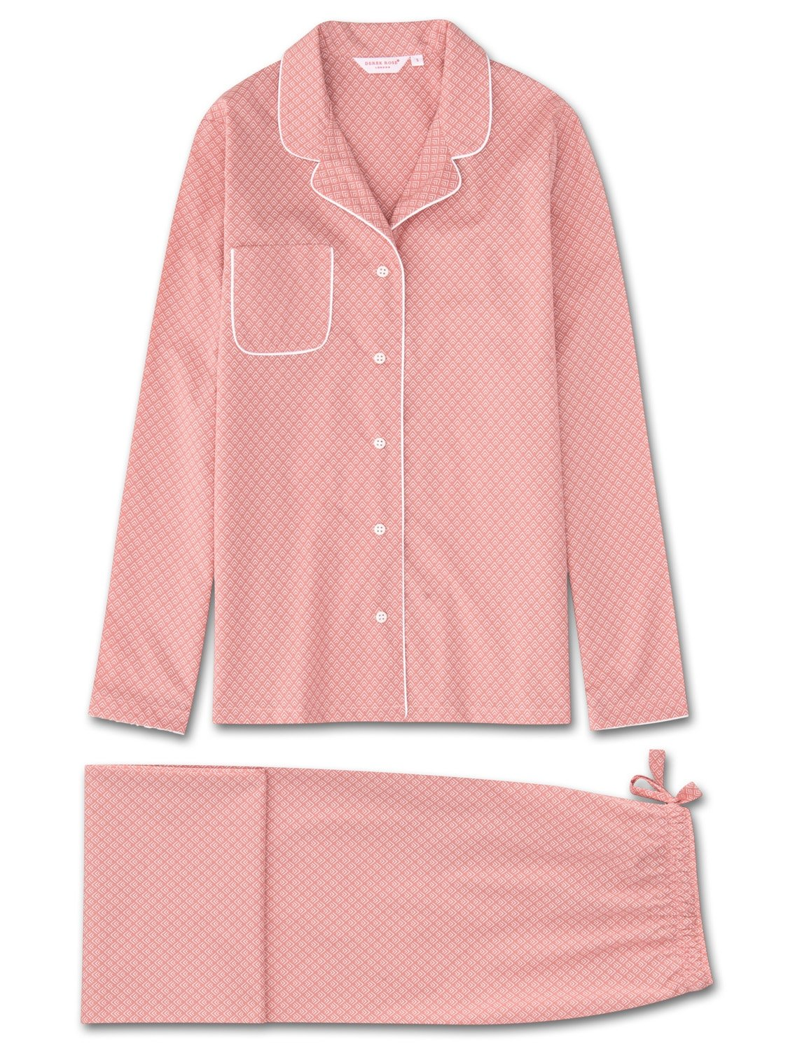 Women's Pyjamas Nelson 66 Cotton Batiste Pink