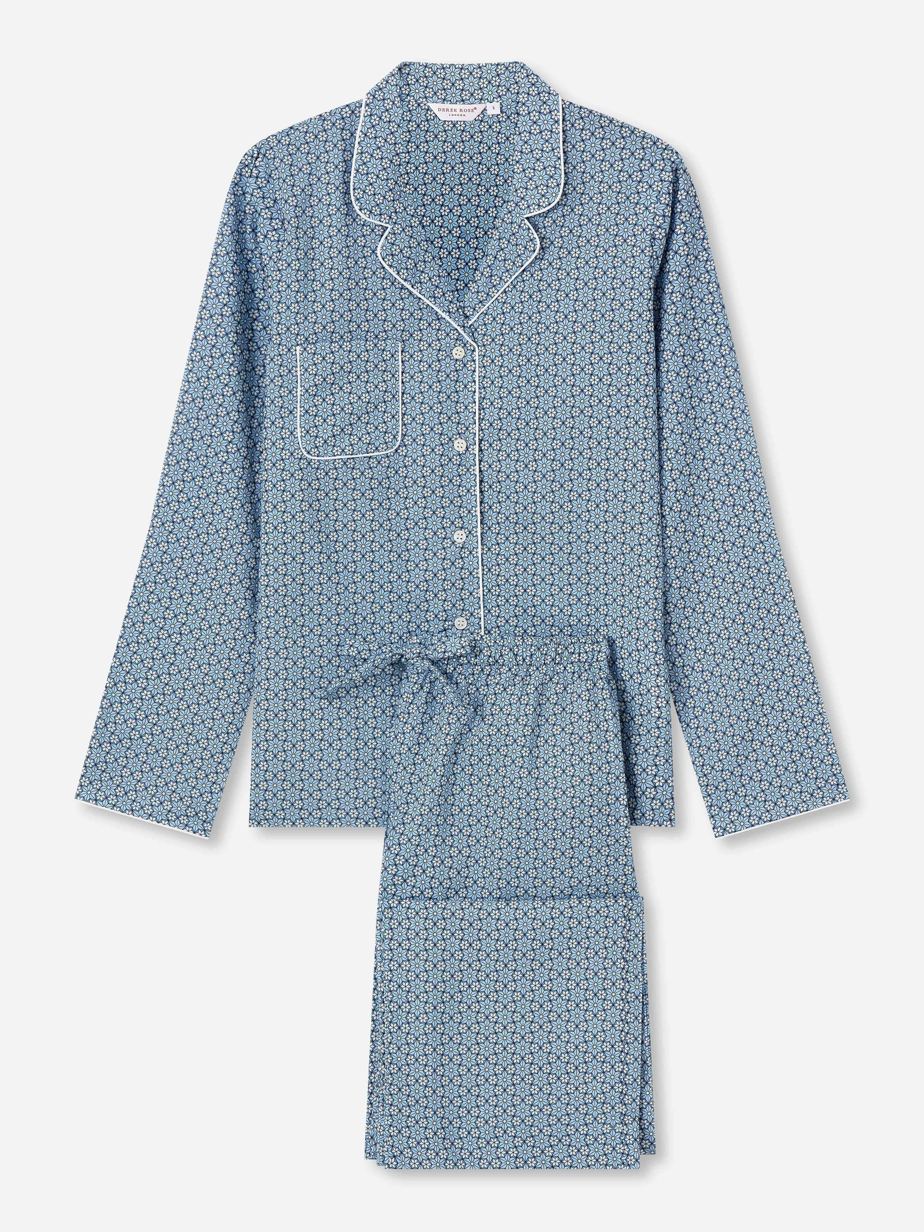 Women's Pyjamas Ledbury 37 Cotton Batiste Blue
