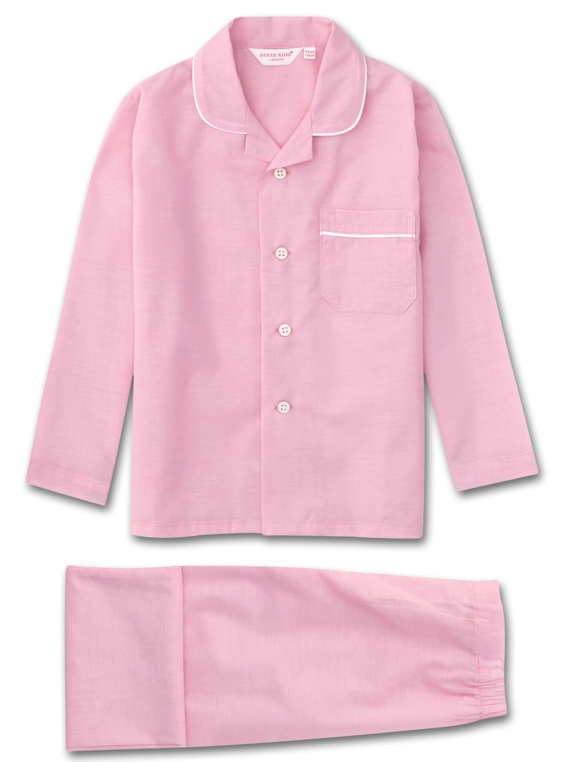 Kids' Pyjamas Amalfi Cotton Batiste Rose