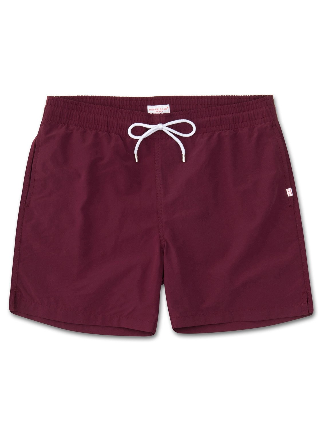 Men's Classic Fit Swim Shorts Aruba Burgundy