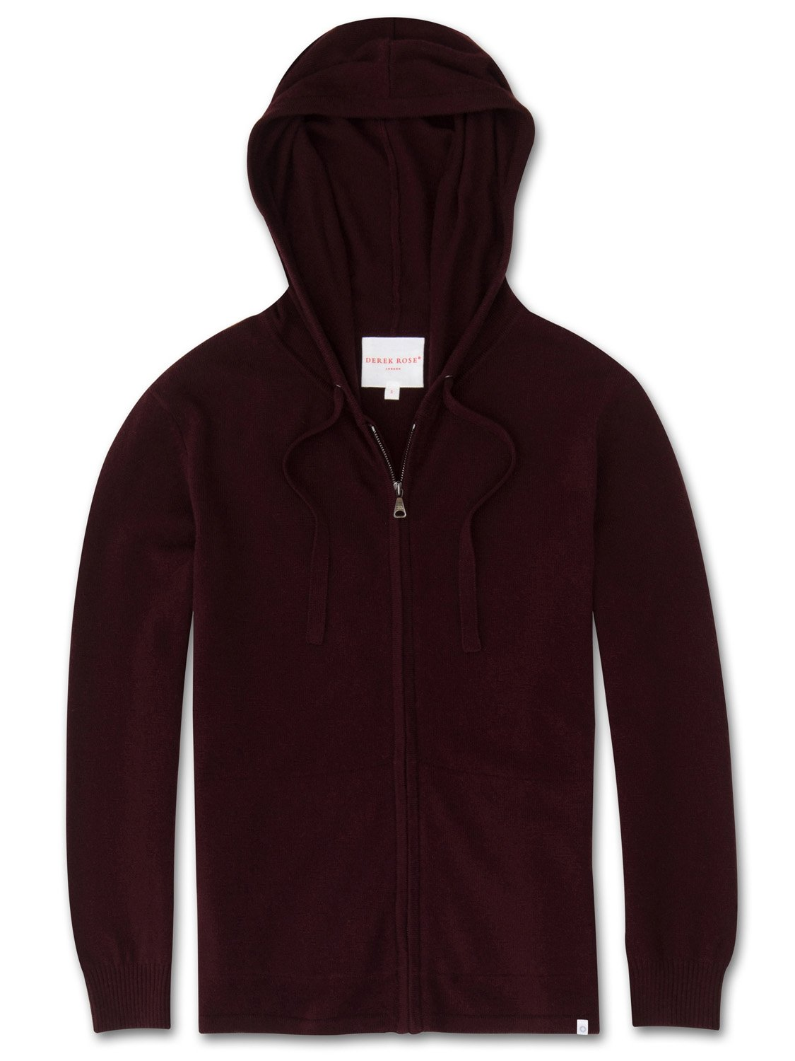 Women's Cashmere Hoodie Finley Pure Cashmere Burgundy