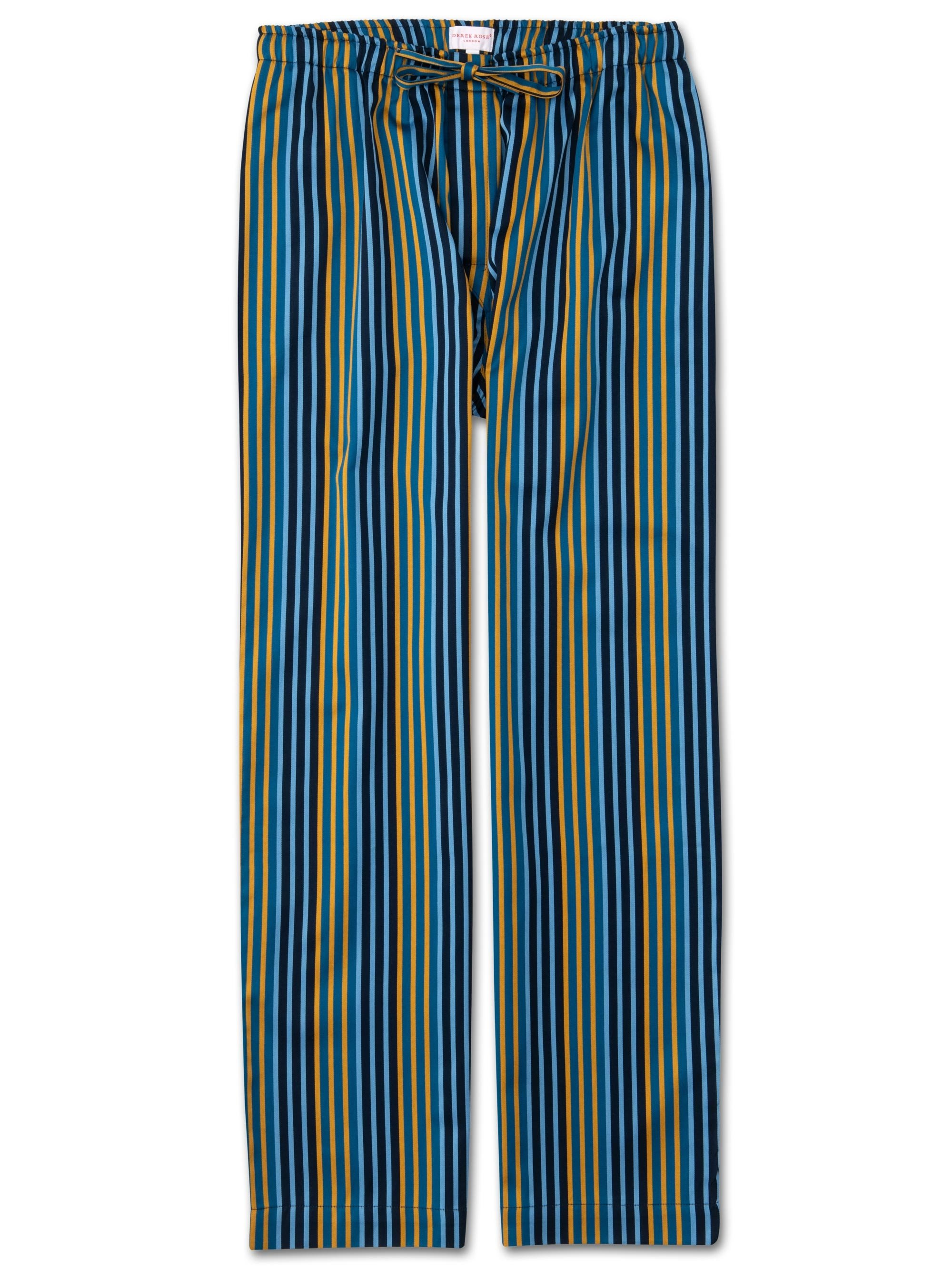 Men's Lounge Trousers Wellington 49 Cotton Full Satin Multi