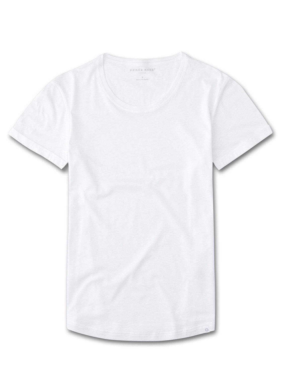 Women's Leisure T-Shirt Riley Pima Cotton White