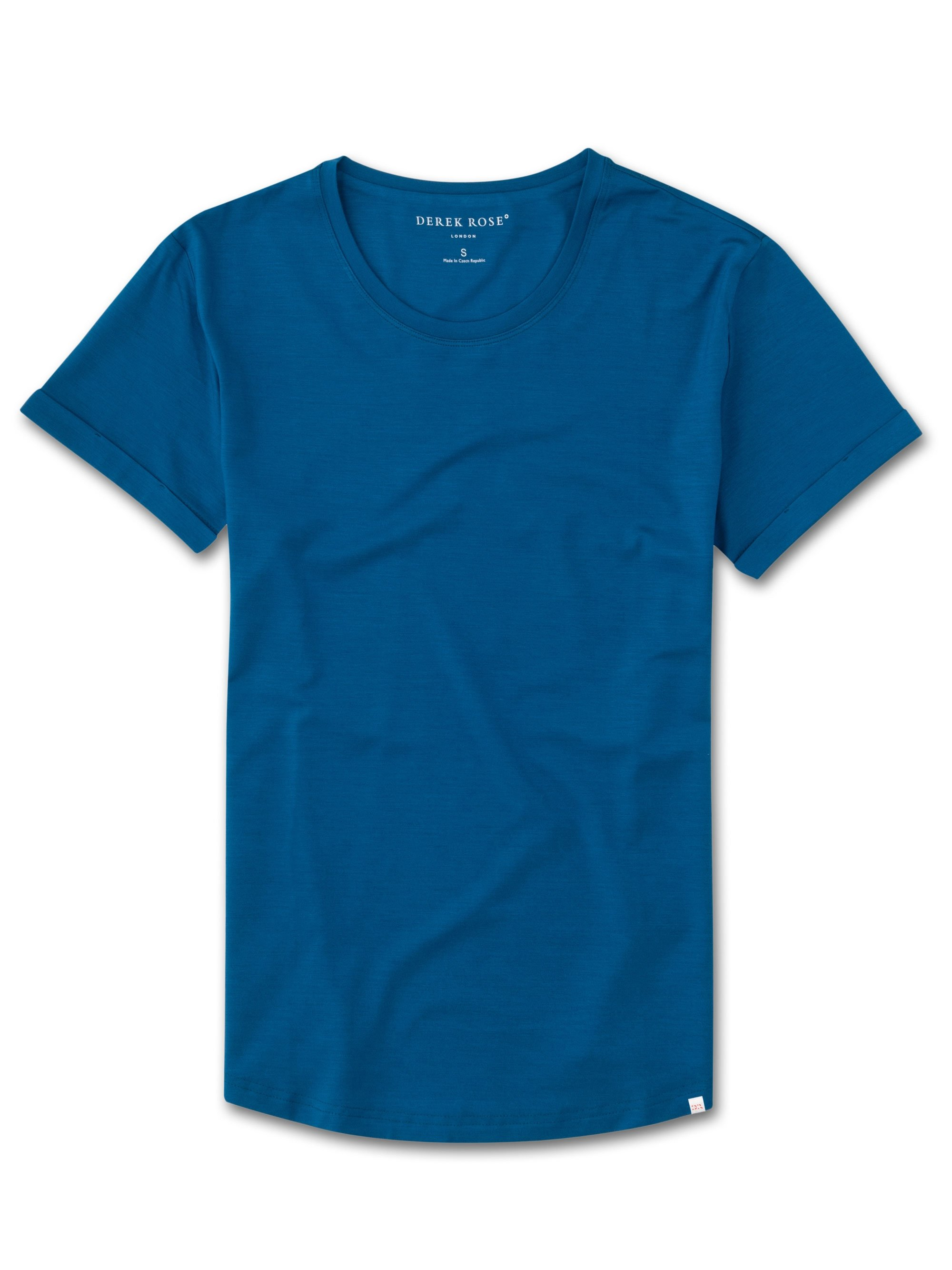 Women's Leisure T-Shirt Lara Micro Modal Stretch Ocean