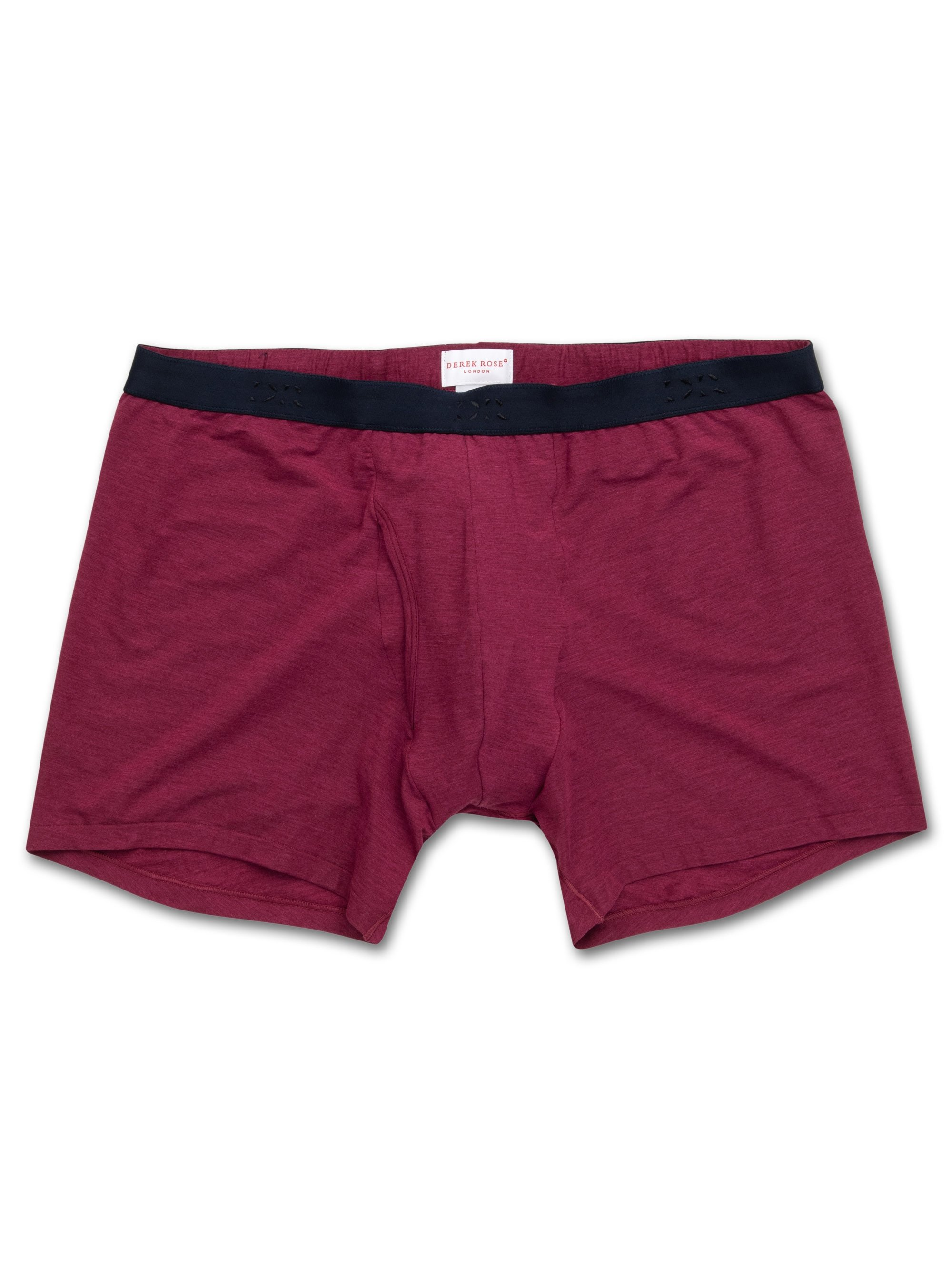 Men's Trunks Ethan Micro Modal Stretch Burgundy