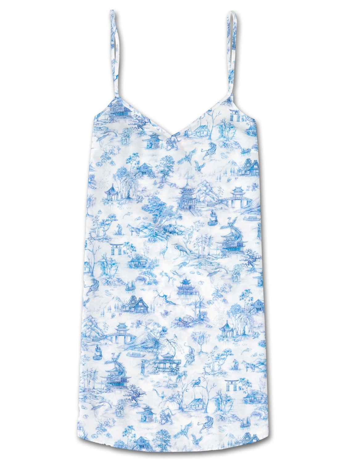 Women's Chemise Ledbury 11 Cotton Batiste Blue