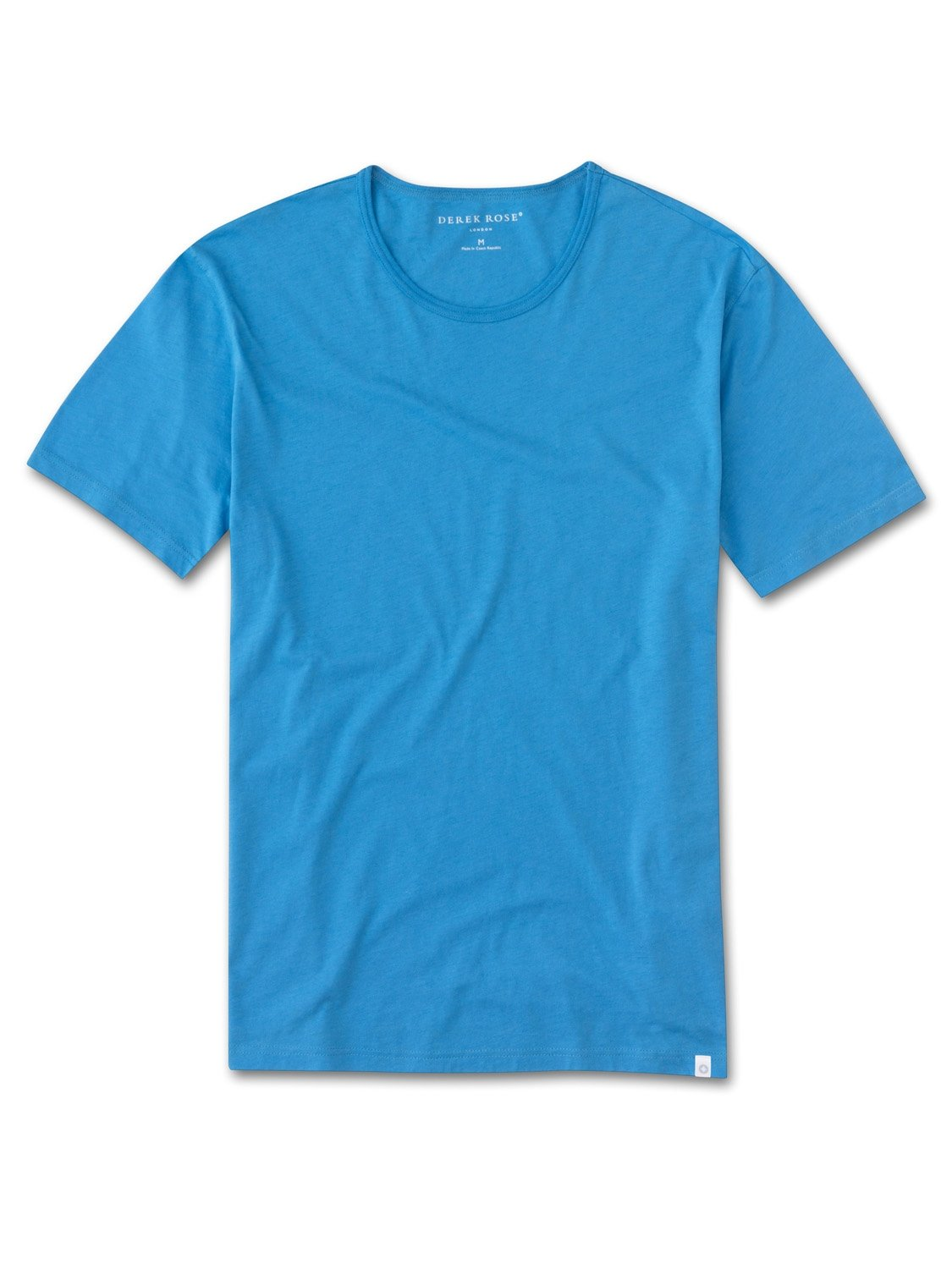 Men's Short Sleeve T-Shirt Riley 2 Pima Cotton Blue