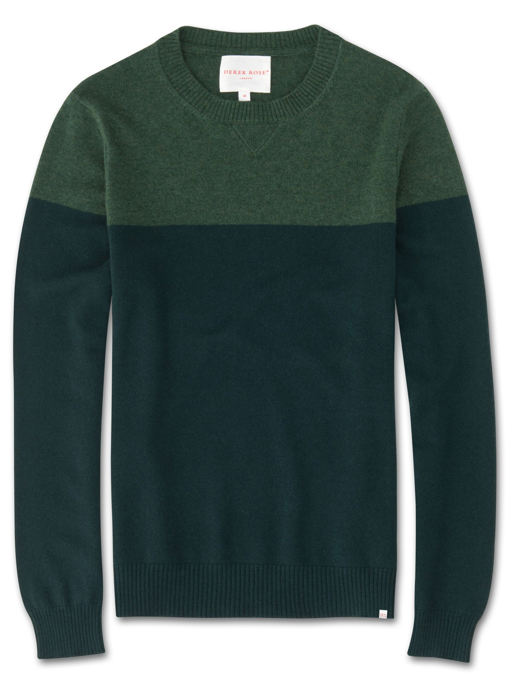 Men's Cashmere Sweater Francis Pure Cashmere Green