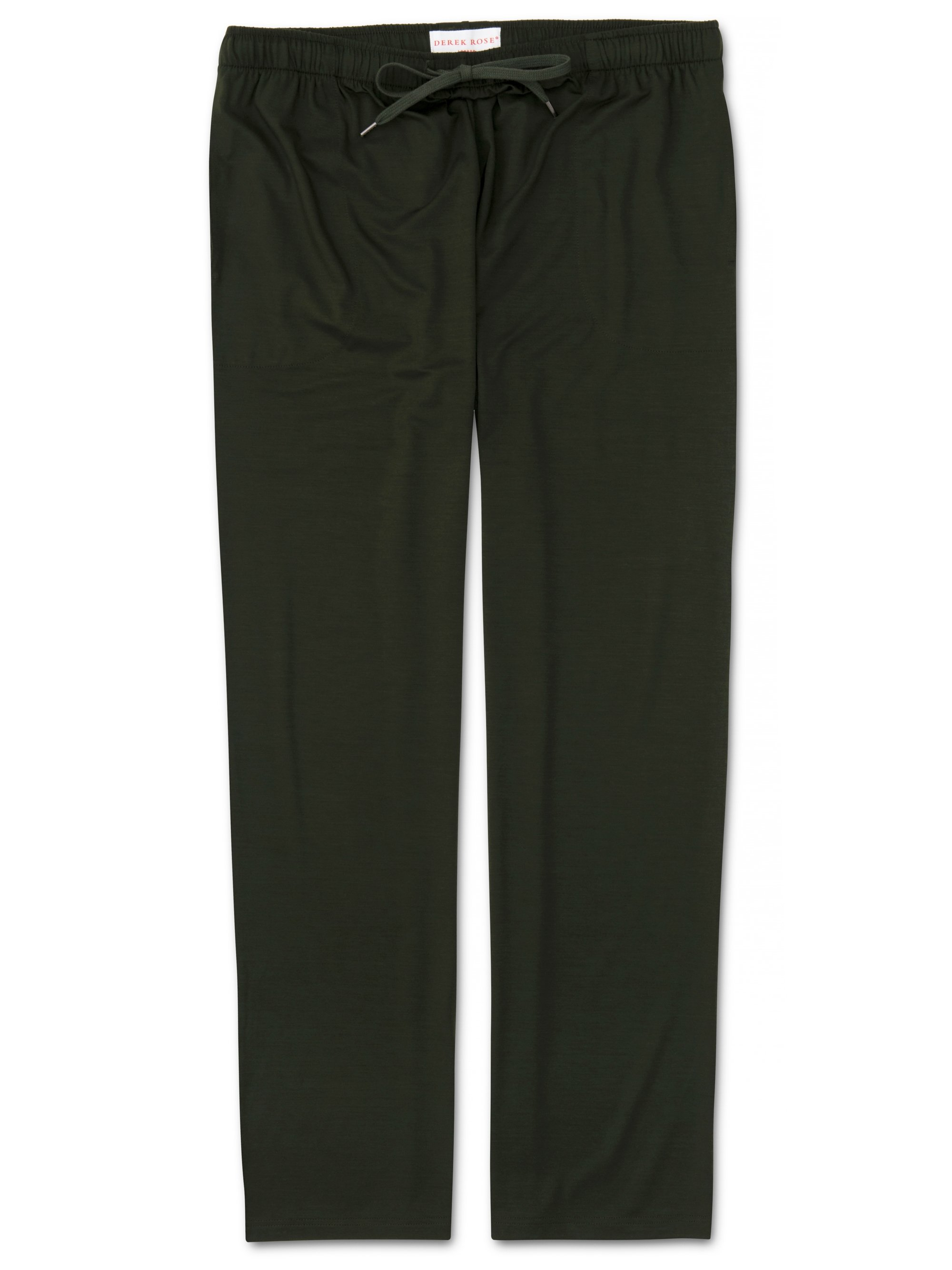 Men's Jersey Trousers Basel 9 Micro Modal Stretch Green