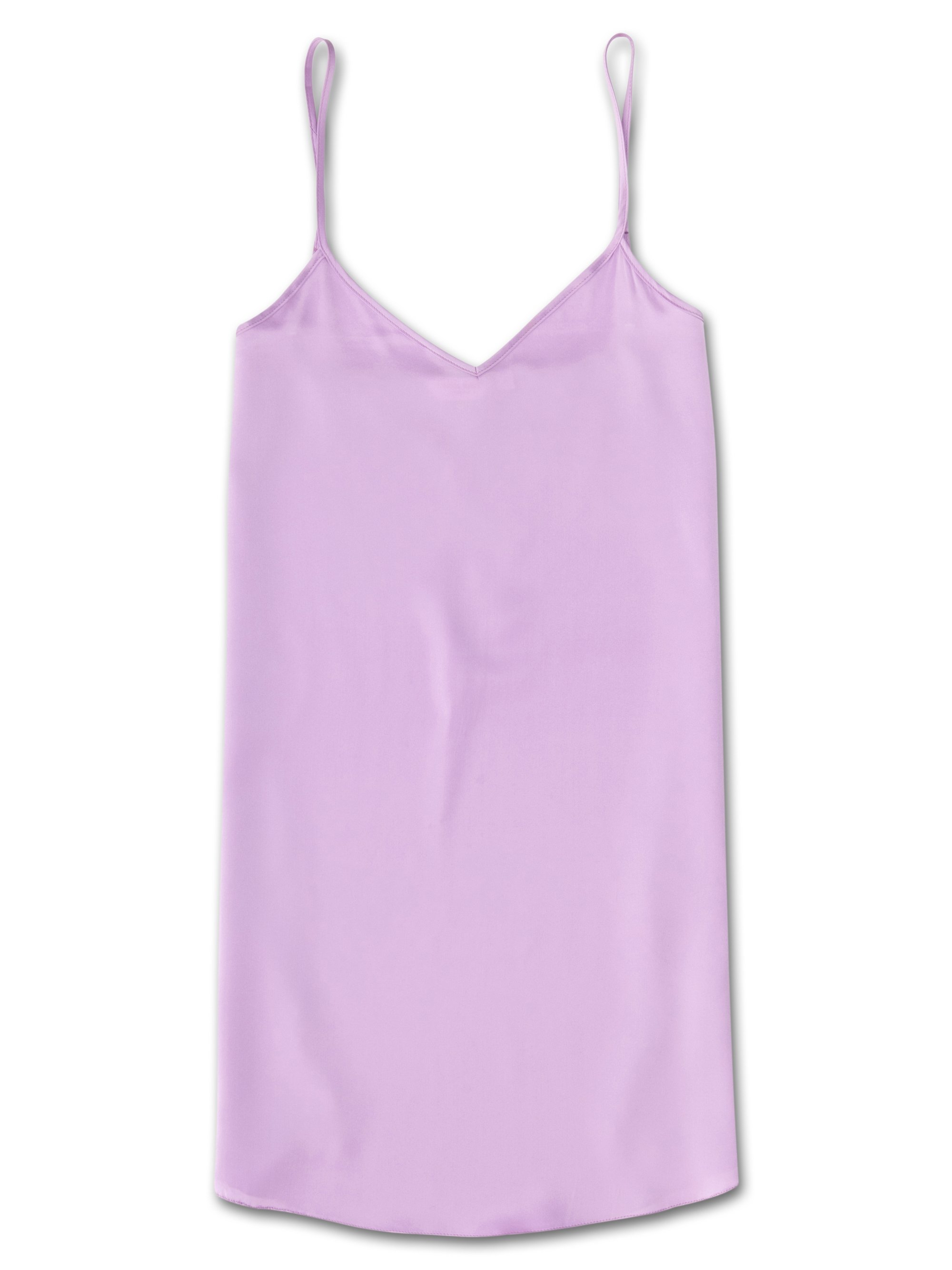 Women's Chemise Bailey Pure Silk Satin Lilac