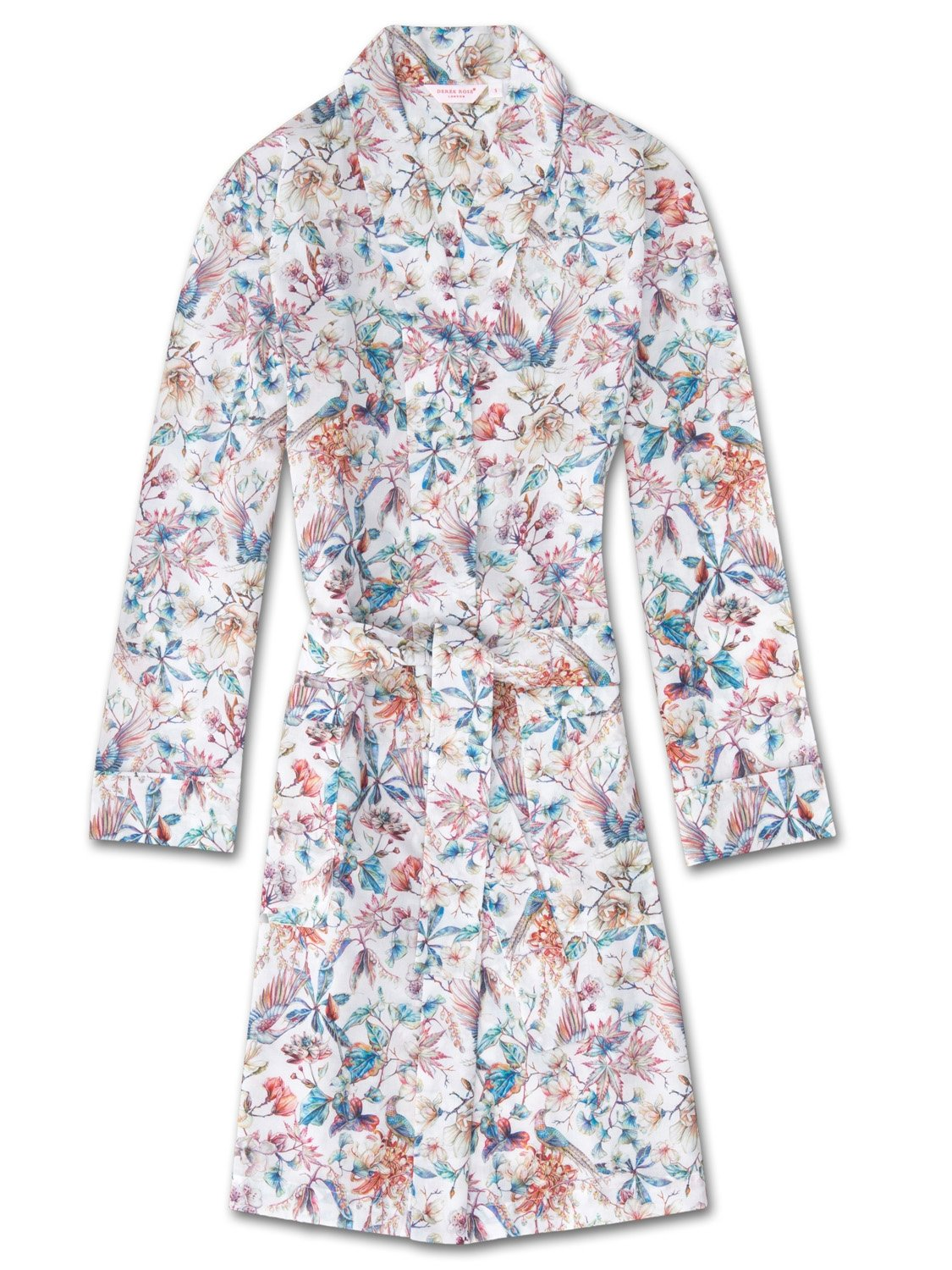 Women's Dressing Gown Ledbury 14 Cotton Batiste Multi