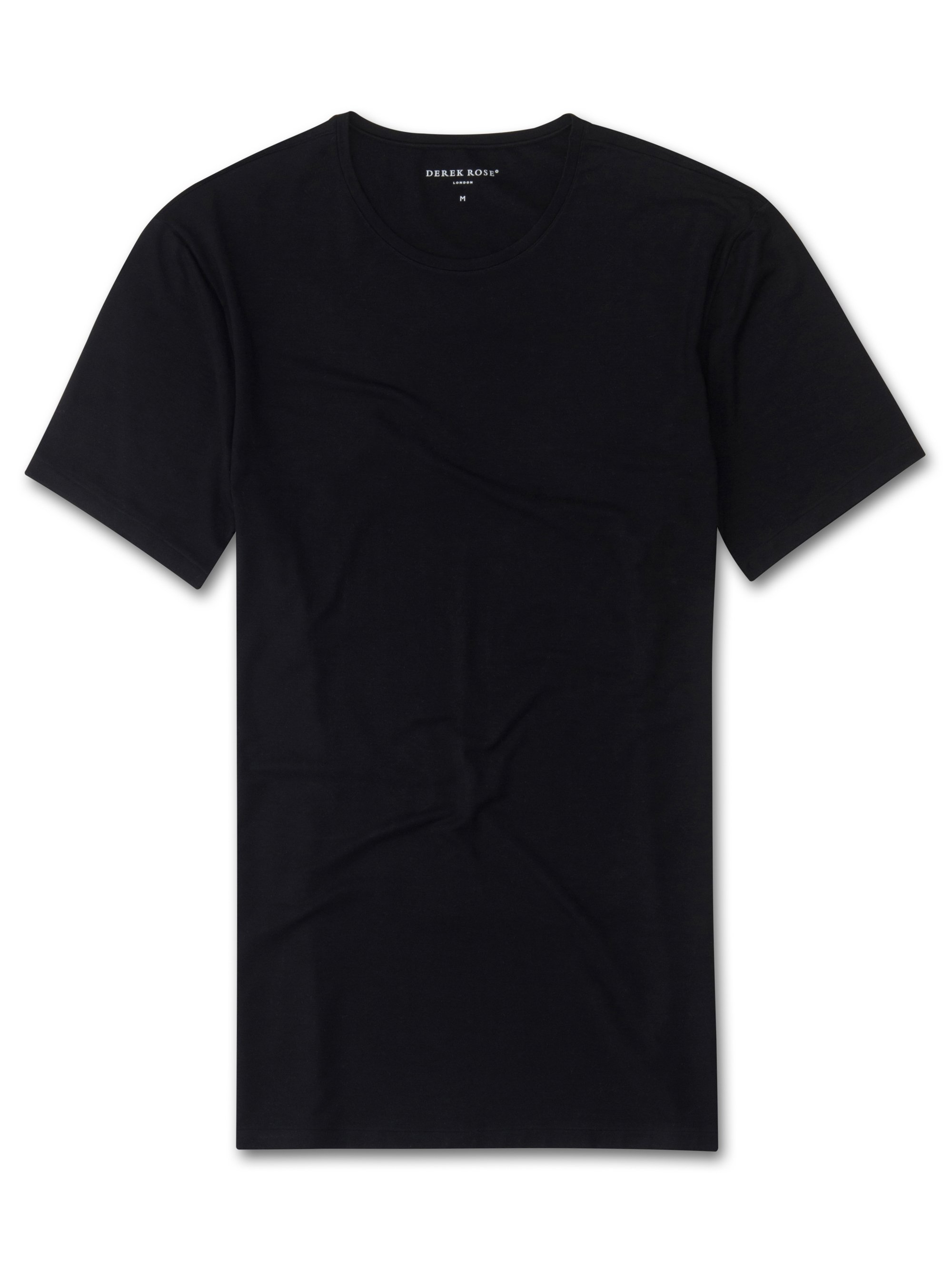 Men's Underwear Crew-Neck T-Shirt Alex Micro Modal Stretch Black