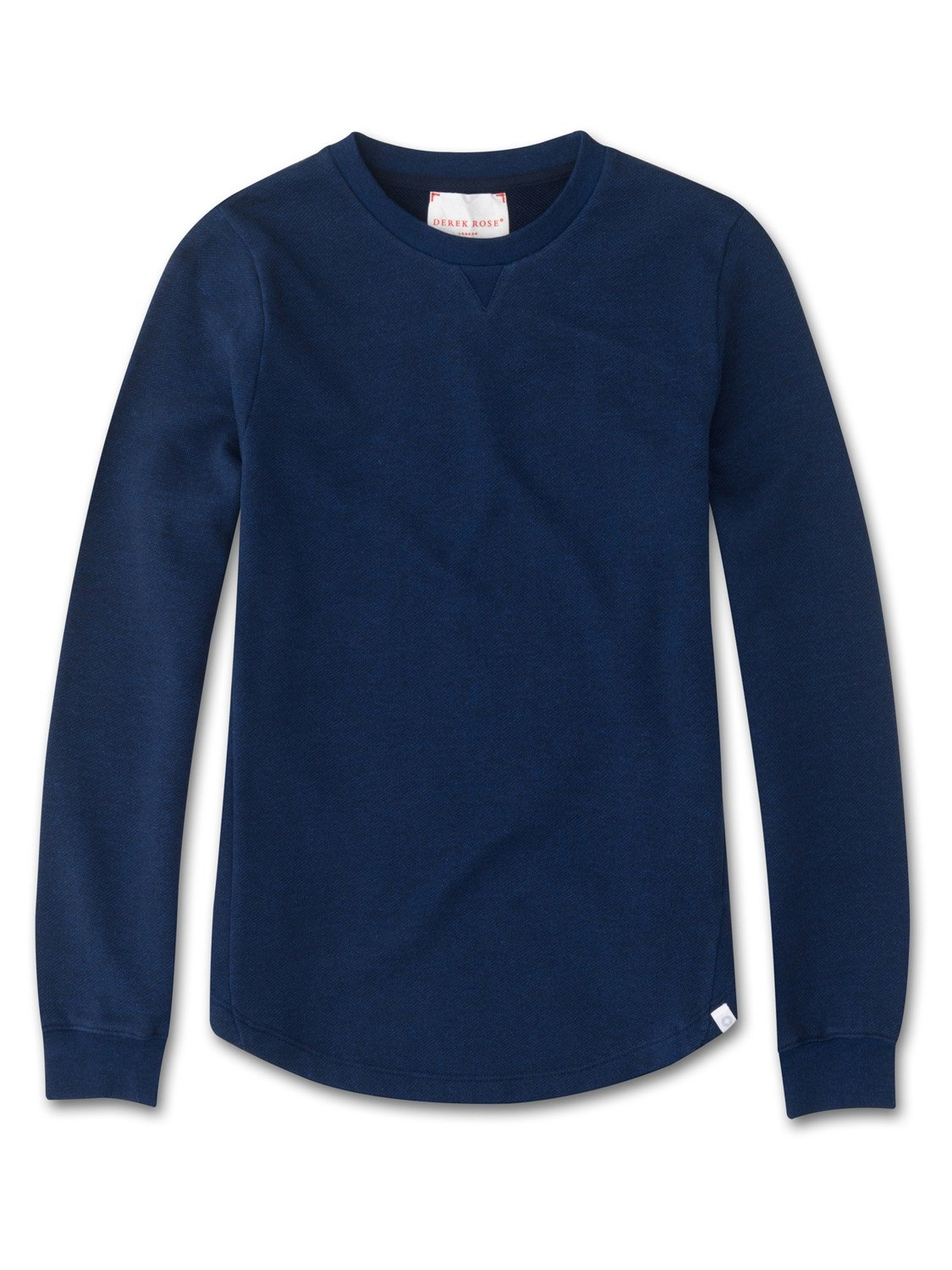 Women's Sweatshirt Devon Loopback Cotton Navy