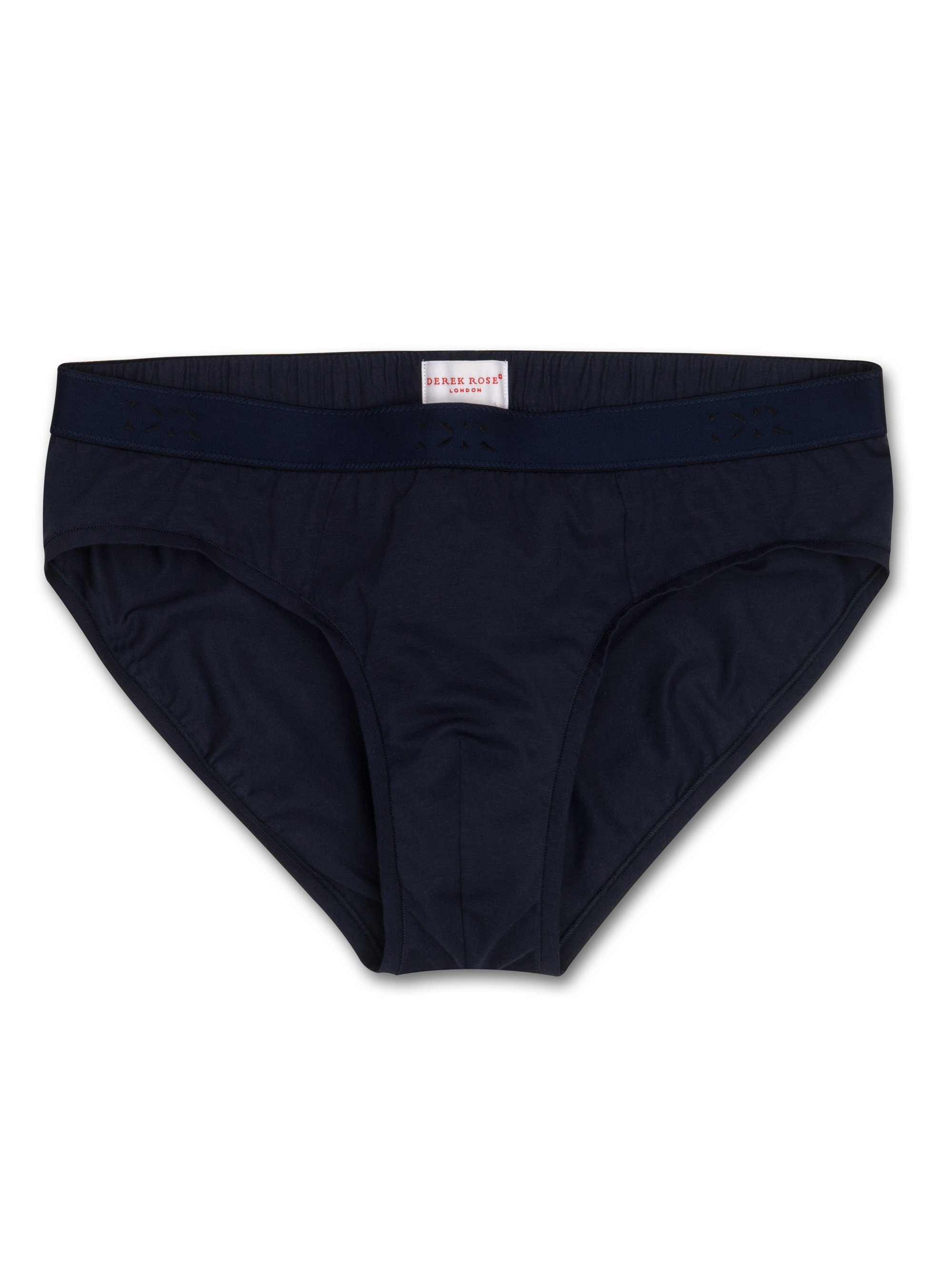 Men's Mid Briefs Jack Pima Cotton Stretch Navy