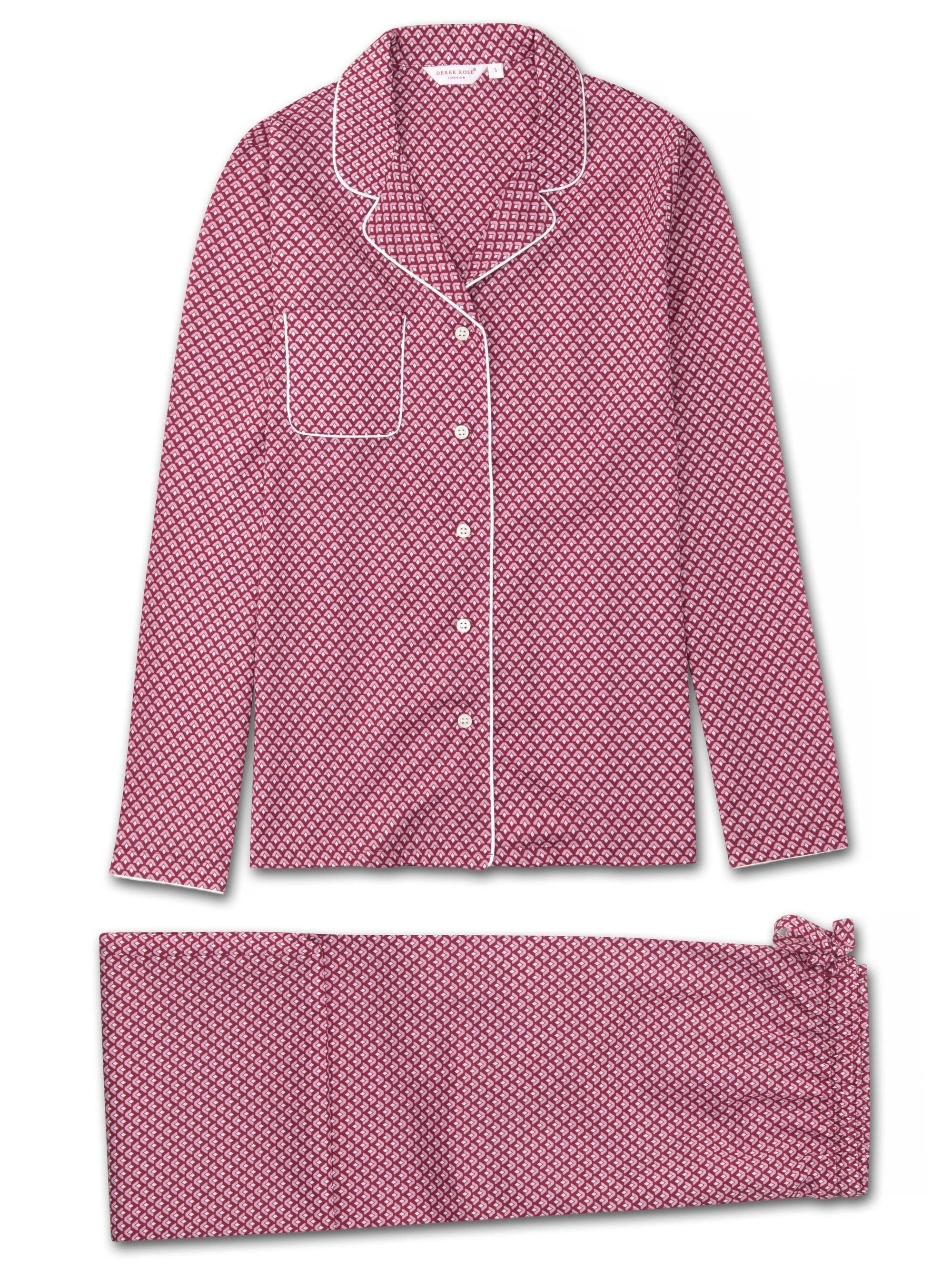 Women's Pyjamas Ledbury 31 Cotton Batiste Pink