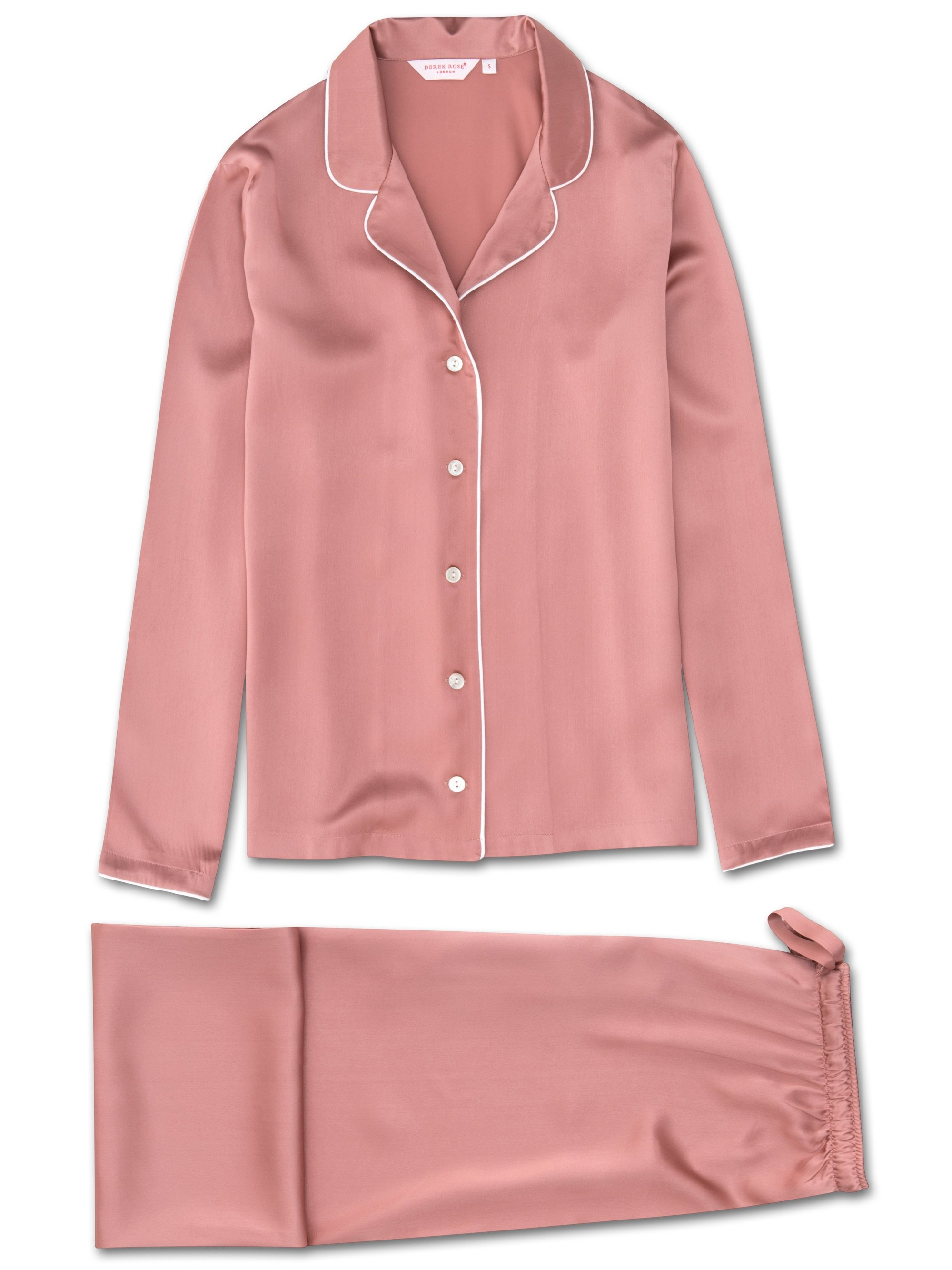 Women's Pyjamas Bailey Pure Silk Satin Pink