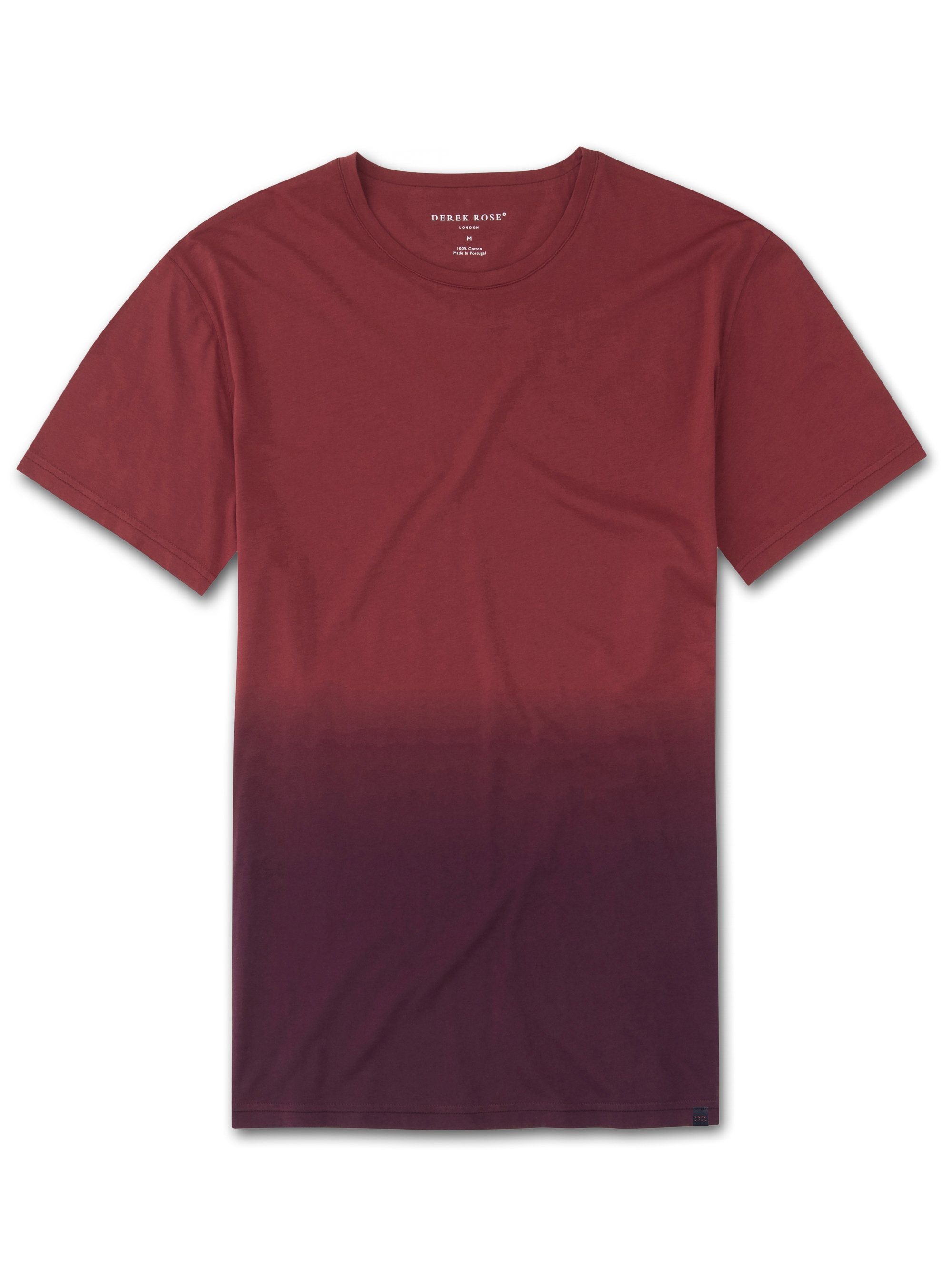 Men's Short Sleeve T-Shirt Rufus Pima Cotton Red
