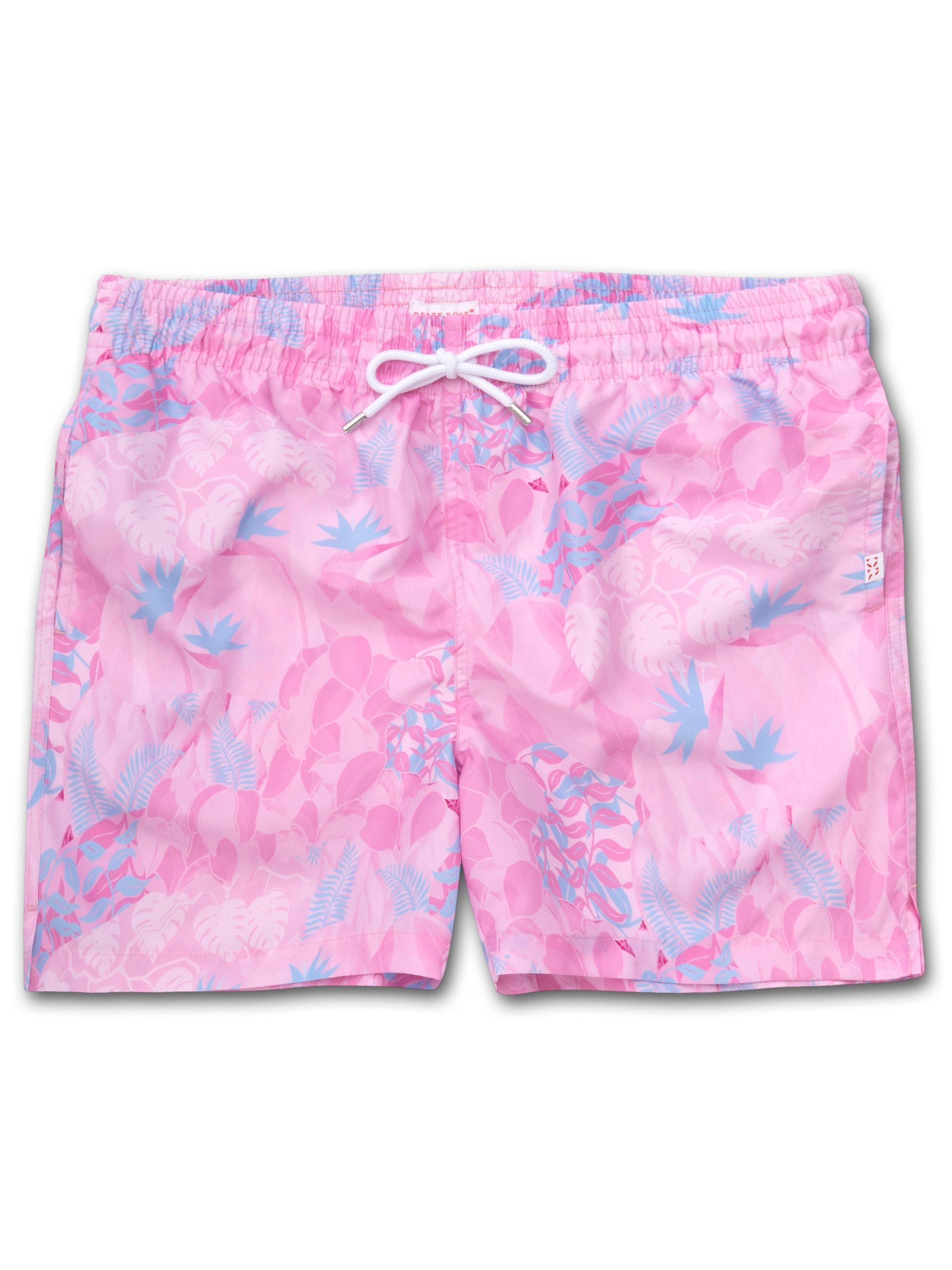 Men's Short Classic Fit Swim Shorts Maui 31 Pink